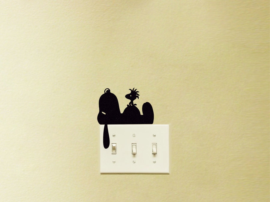 Snoopy Wall Stickers Snoopy Wall Decal Wall Sticker by decoryourwall ...