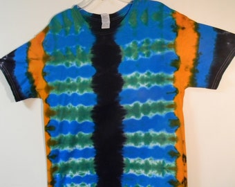 Adult Large Tie Dye Short Sleeved T-shirt