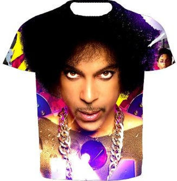 Men's Prince Afro and Chain