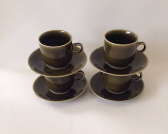 Vintage! Colditz, DDR/Germany, Caffe Cup and saucer, mid-century