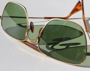 Vintage Aviators with Brow Bar and Semi Square Lens Clubmaster Style