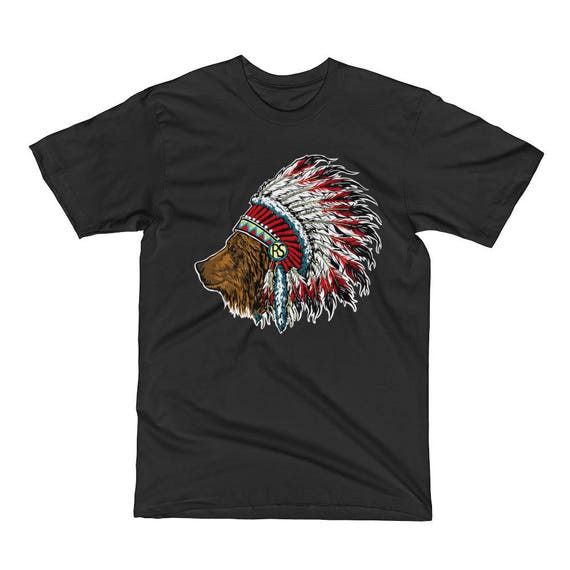 indian bear, Men's Short Sleeve T-Shirt
