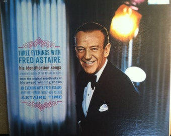 Three Evenings With Fred Astaire Vinyl Pop Record Album