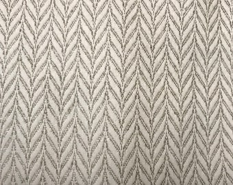 Taupe Herringbone -  Neutral - Wintrop Taupe - Upholstery Fabric By The Yard