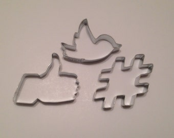 Social Media Cookie Cutter Set