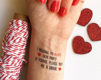 16 Hen Party Tattoos