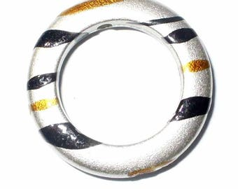 1 Pearl ring drilled gray Pinstripe AP250 23mm