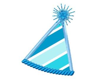 Birthday Hat...Instant download...Applique Machine Embroidery DESIGN NO. 655