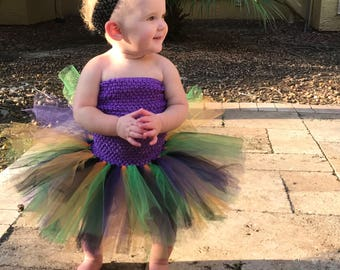 Baby Girl Witch Halloween Tutu Dress