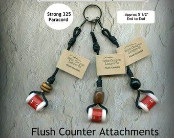 Flush Counters To Attach To Hunting Lanyard Or Vest