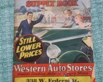 Auto supply book