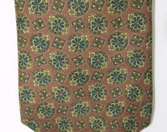 Vintage Liberty of London Necktie Silk Floral Made in USA