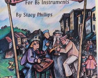 Klezmer Music Book for B flat instruments