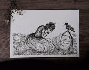 Weeping ~ Art Print