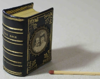 Miniature Books Bound to order, almost any size.