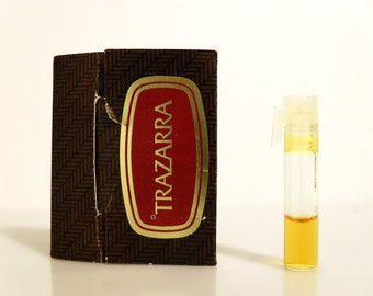 Vintage 1970s Trazarra by Avon Cologne Sample Vial on Card Discontinued