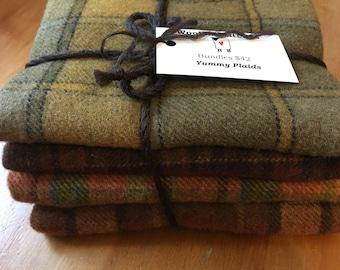 Wool Bundles - Yummy Plaids