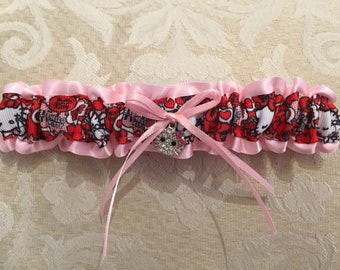 Hello Kitty wedding garter