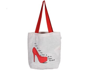 CANTA Cotton eco friendly Reusable Shopping Grocery Tote Bag