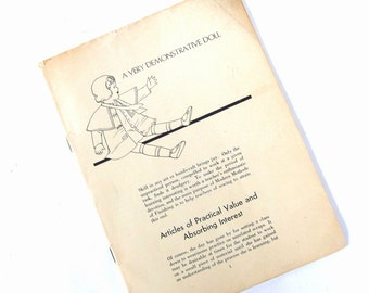 Vintage 1930's Modern Methods of Finishing, a Butterick Sewing Booklet Pamphlet