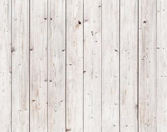 White Wood Planks Photography Backdrop, Newborns photography background, children vinyl photoshoot backdrop, wood photodrops XT-4979