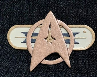Star Trek TOS Insignia with Magnet//3D Printed//Cosplay Costumes and Halloween