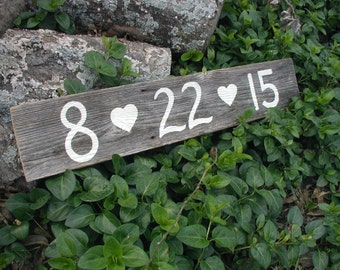 Rustic Save the Date Sign / Rustic Engagement Photo Prop / Country Save the Date Sign / Country Wedding Date Sign / Rustic Wedding Date Sign