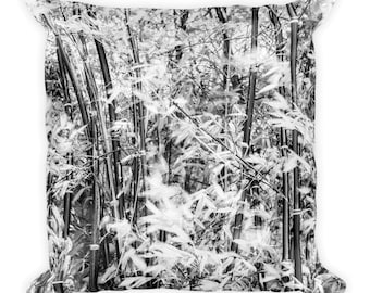 Bamboo Forest Square Pillow
