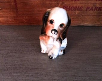 Sad Eyed Dog Figurine  I Shin