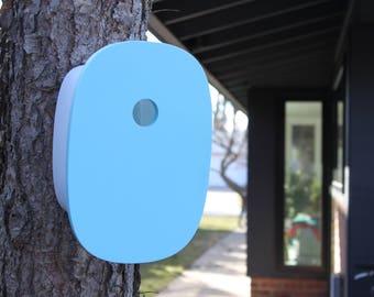 Modern Birdhouse | Robin's Egg Blue