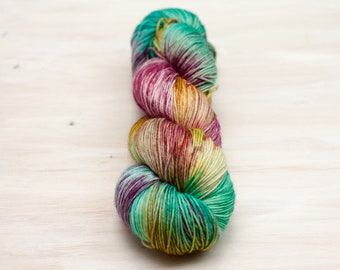 Ann's Rainbow - Squid Sock - Ready to Ship