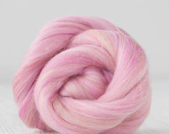 Superfine Merino Wool Top - 19 micron - Mademoiselle - 4 ounces