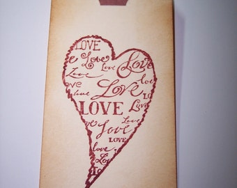 Love Tags set of 3