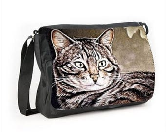 Satchel cat pattern