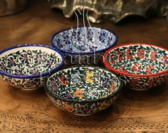 Iznik Design Handmade Ceramic Bowl Set