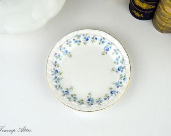 Royal Albert Memory Lane Pin Dish, Vintage English Bone China, Replacement China,  Candy Dish, ca. 1960
