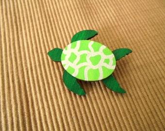 Brooch, sea turtle (1797)