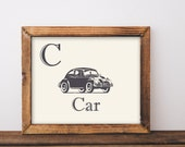 Vintage car printable art...