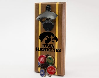 Iowa Hawkeyes Magnetic Bottle Opener