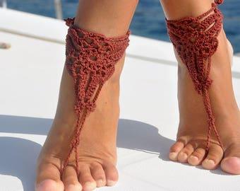 Bohemian Barefoot Sandals Foot Boho Jewelry Festival Sandals Barefoot Jewelry Footless Sandals Foot Jewelry Beach Sandals Barefoot Sandals
