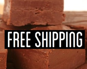 Free Shipping, Milk Chocolate Fudge, Creamy Fudge