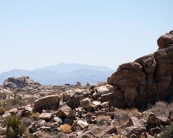 Joshua Tree, California, Desert, Mountains