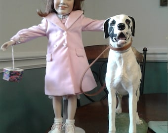 Jackie Kennedy and Great Dane by Gadco