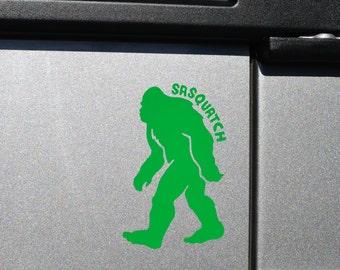 Sasquatch (Bigfoot) Decal