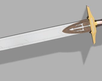 "Percy Jackson Sword ""Riptide"" Inspired Replica Prop Costume Accessory"