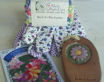 Back To The Garden Soap and Pumice Set