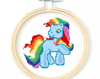 My Little Pony Cross Stitch Pattern - Instant Download