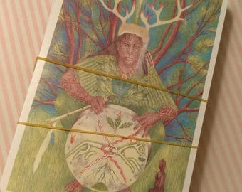 Greenwood Tarot Deck Only with Organza Pouch