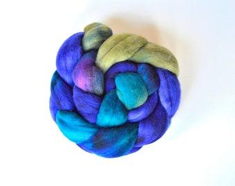 Hand Dyed Luxury Soft Merino Wool Roving | Beneath the Surface