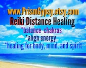 Reiki Distance Healing Holistic Chakra Balancing Energy Session 20 Minutes For People or Pets and Animals